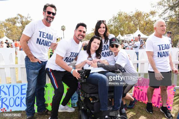 Don Diamont Nanci Ryder Courtney Cox and Renée Zellweger participate in Nanci Ryder's Team Nanci In The 16th Annual LA County Walk To Defeat ALS at...