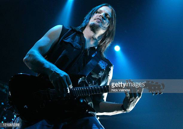 Don Donegan of Disturbed during Disturbed in Concert at the House of Blues in Atlantic City - December 11, 2005 at The House of Blues at the Showboat...