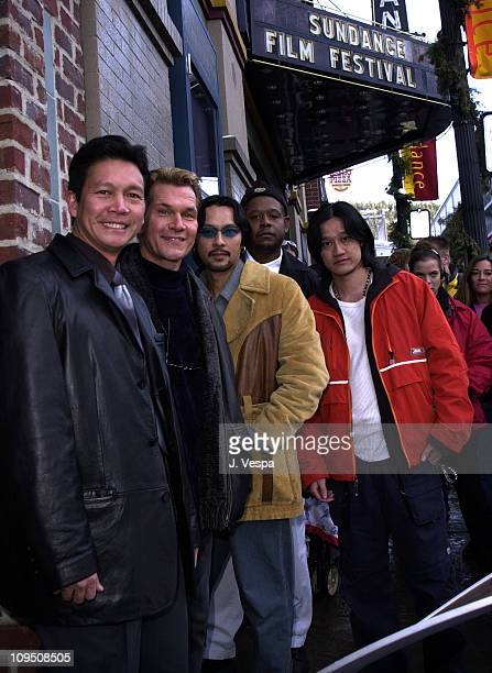 Don Duong Patrick Swayze Timothy Linh Bui Forest Whitaker and Tony Bui