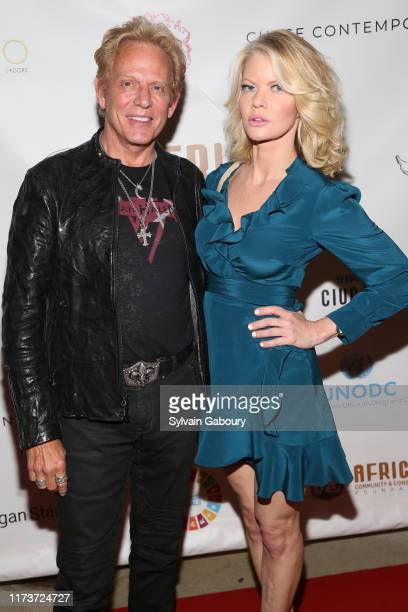 Don Felder and Diane McInerney attend ACCF Impact Benefit and Auction at Chase Contemporary on September 10 2019 in New York City