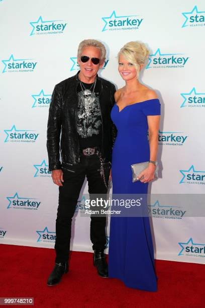 Don Felder and Diane McInerney walk the red carpet at the 2018 So the World May Hear Awards Gala benefitting Starkey Hearing Foundation at the Saint...