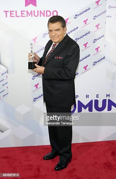 Don Francisco attends Telemundo's Premios Tu Mundo Awards 2015 at American Airlines Arena on August 20 2015 in Miami Florida