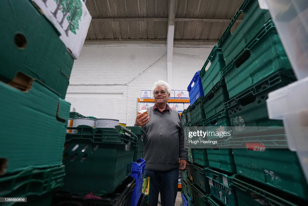 Camborne Foodbank Receives Unprecedented Donations After Featuring On BBC2 Programme : News Photo