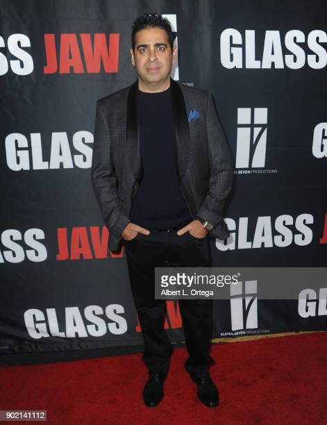 Don Gatsby arrives for the premiere of 'Glass Jaw' held at Universal Studios Hollywood on November 9 2017 in Universal City California