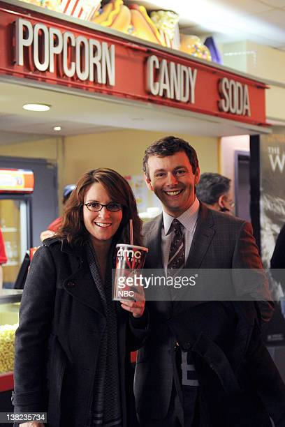 30 ROCK 'Don Geiss America and Hope' Episode 415 Pictured Tina Fey as Liz Lemon Michael Sheen as Wesley