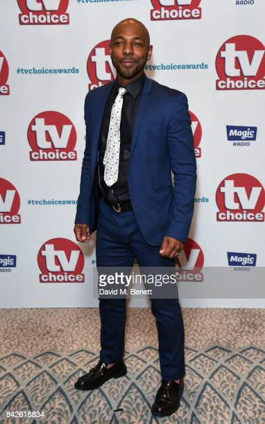 Don Gilet attends the TV Choice Awards at The Dorchester on September 4 2017 in London England