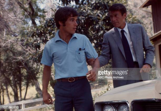 Don Grady Efrem Zimbalist Jr appearing in the Walt Disney Television via Getty Images series 'The FBI' episode 'The Witness'
