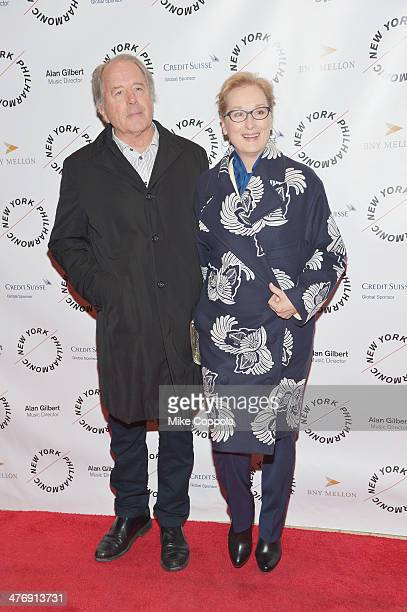 """Don Gummer and actress Meryl Streep attend the 2014 The New York Philharmonic Spring Gala featuring """"Sweeney Todd: The Demon Barber of Fleet Street""""..."""
