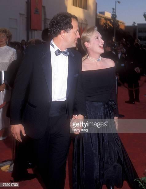 Don Gummer and Meryl Streep at the Shrine Auditorium in Los Angeles, California