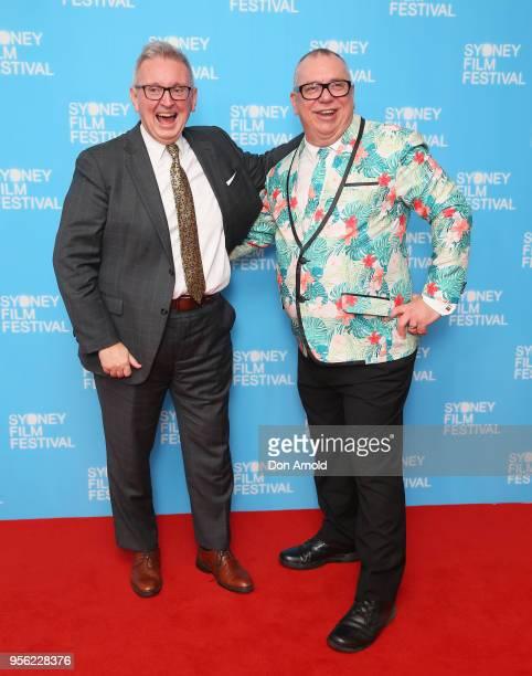 Don Harwin and Craig Donarski attend the Sydney Film Festival 2018 Program Launch at Sydney Town Hall on May 9, 2018 in Sydney, Australia.
