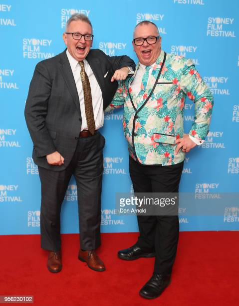 Don Harwin and Craig Donarski attend the Sydney Film Festival 2018 Program Launch at Sydney Town Hall on May 9 2018 in Sydney Australia
