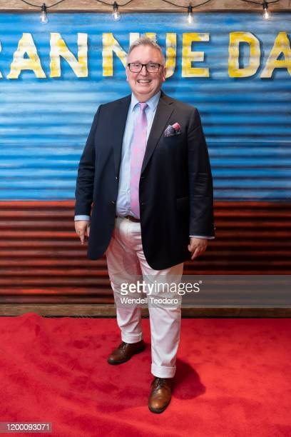 Don Harwin attends opening night of Bran Nue Dae on January 17, 2020 in Sydney, Australia.