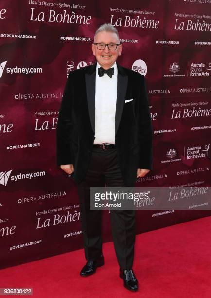 Don Harwin attends opening night of Handa Opera's La Boheme on March 23, 2018 in Sydney, Australia.