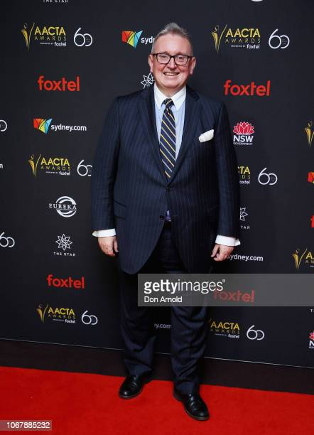 Don Harwin attends the 2018 AACTA Awards | Industry Luncheon at The Star on December 3 2018 in Sydney Australia