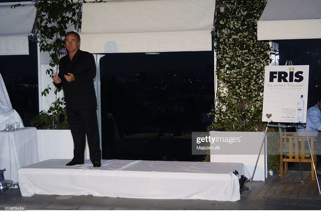 Don Hazlewood during Fris Vodka Event to unveil Art by Federico Castelluccio at Skybar at the Mondrian Hotel in Hollywood, California, United States.