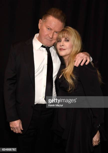 Don Henley and Stevie Nicks attend MusiCares Person of the Year honoring Tom Petty at the Los Angeles Convention Center on February 10 2017 in Los...