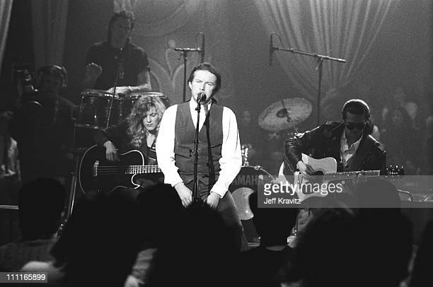 Don Henley during MTV's Unplugged 1989 in Los Angeles CA United States