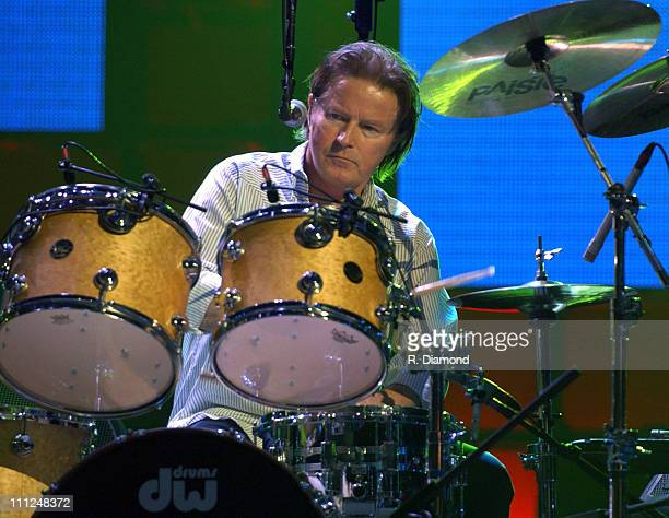Don Henley during The Eagles and Dixie Chicks Benefit for Recording Artists Coalition at MCI Center in Washington DC United States