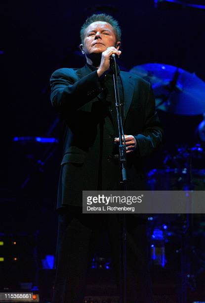 Don Henley during The Eagles Live In Concert at Continental Airlines Arena in East Rutherford New Jersey United States