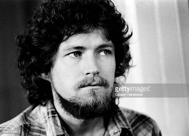 Don Henley of The Eagles being interviewed in London in 1973
