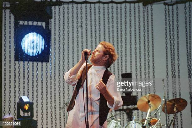 Don Henley of the Eagles during Don Henley Performs at the Gorge in George August 17 1991 at The Gorge in George in George Washington United States