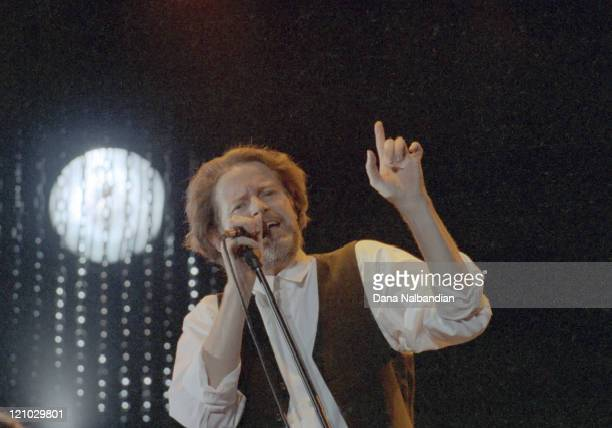 Don Henley of the Eagles during Don Henley Performs at the Gorge in George - August 17, 1991 at The Gorge in George in George, Washington, United...