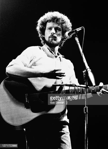 Don Henley of The Eagles performs on stage at the Wembley Arena, London, England, on 26 April 1977.