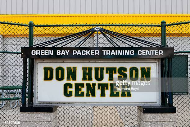 Don Hutson Center indoor practice facility of the Green Bay Packers football team on August 31 2015 in Ashwaubenon Wisconsin