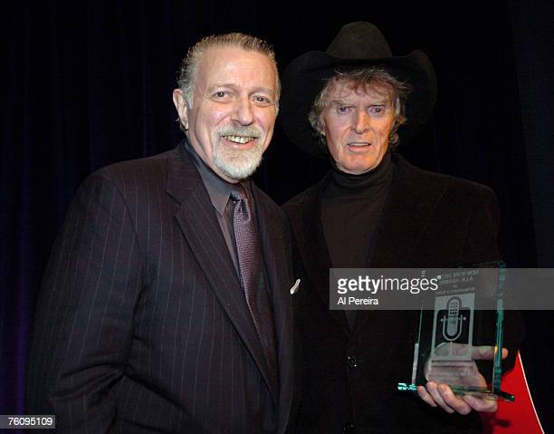 Don Imus presents Dan Ingram with the 2005 Lifetime Achievement Award