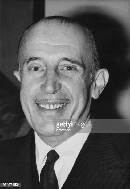 Don Jaime Duke of Segovia at a press conference in Paris France 15th November 1961 The son of King Alfonso XIII of Spain he announced that he will be...