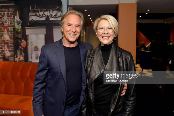 Don Johnson and Annette Bening stop by AT&T ON LOCATION during Toronto International Film Festival 2019 at Hotel Le Germain on September 06, 2019 in...