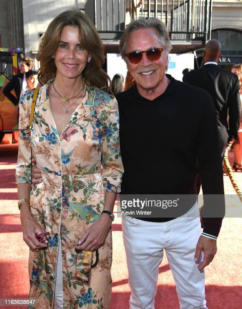Don Johnson and Kelley Phleger attend the Sony Pictures' Once Upon A TimeIn Hollywood Los Angeles Premiere on July 22 2019 in Hollywood California