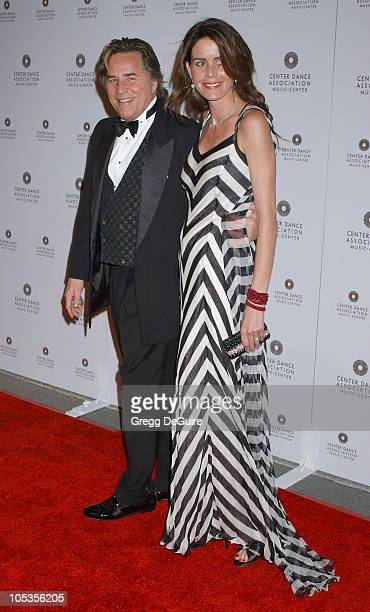 Don Johnson and Kelly Johnson during NYC Ballet BlackTie Gala Opening at Dorothy Chandler Pavilion in Los Angeles California United States