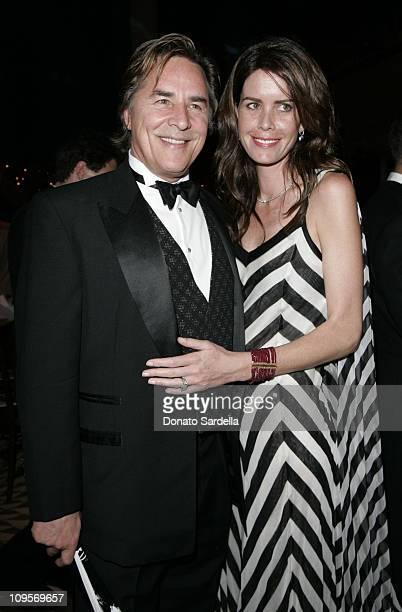 Don Johnson and Kelly Johnson during NYC Ballet Gala to Benefit The Center Dance Association at The Music Center Inside at Dorothy Chandler Pavilion...