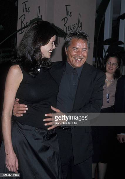 Don Johnson and wife Kelley during The 44th Annual GRAMMY Awards Clive Davis PreGRAMMY Party at Beverly Hills Hotel in Beverly Hills California...