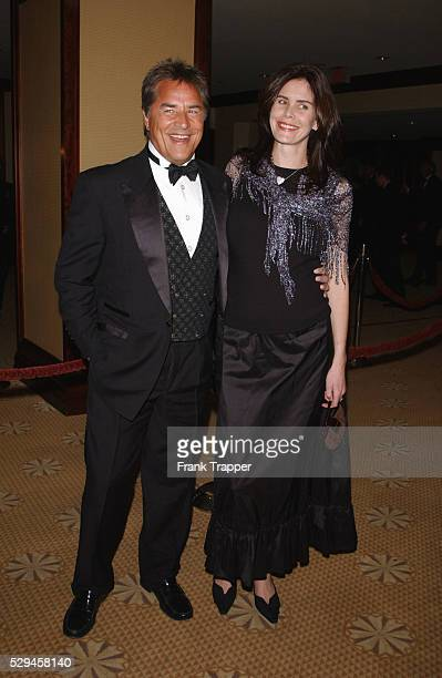 Don Johnson and wife Kelley Phleger arrive at the 54th annual Directors Guild of America Awards.