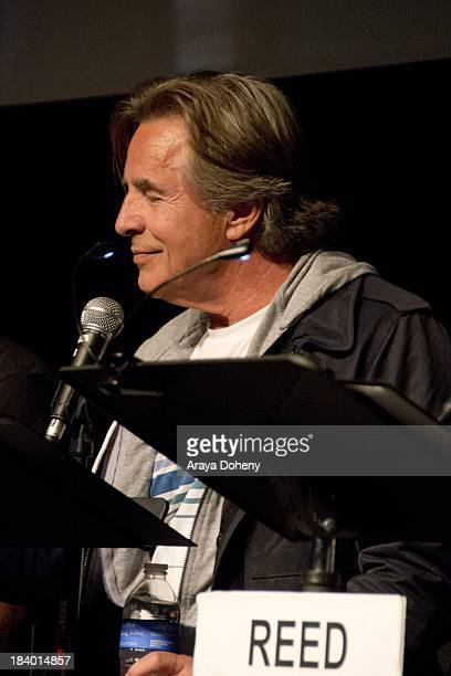 Don Johnson at the Film Independent at LACMA 'Boogie Nights' live read directed by Jason Reitman at Bing Theatre At LACMA on October 10 2013 in Los...