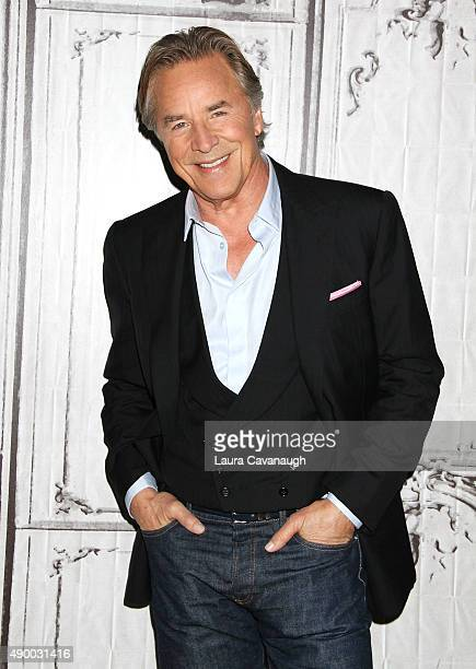 """Don Johnson attends AOL Build Presents """"Blood And Oil"""" at AOL Studios In New York on September 25, 2015 in New York City."""