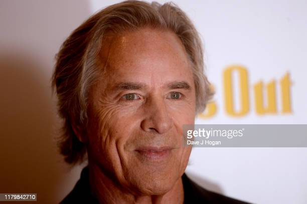 Don Johnson attends the Knives Out European Premiere during the 63rd BFI London Film Festival at the Odeon Luxe Leicester Square on October 08 2019...
