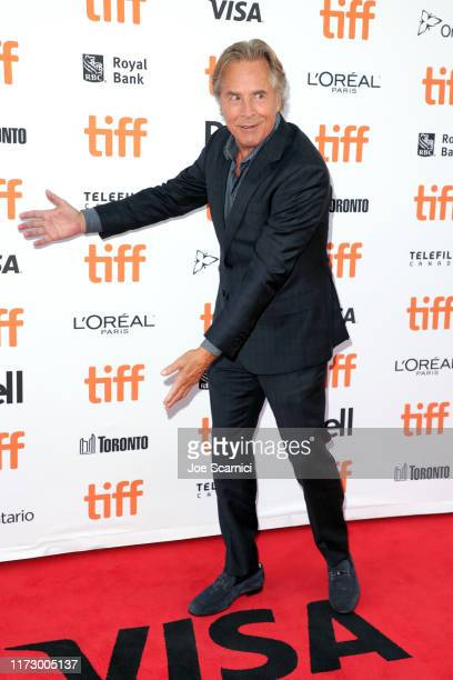Don Johnson attends the Knives Out premiere during the 2019 Toronto International Film Festival at Princess of Wales Theatre on September 07 2019 in...