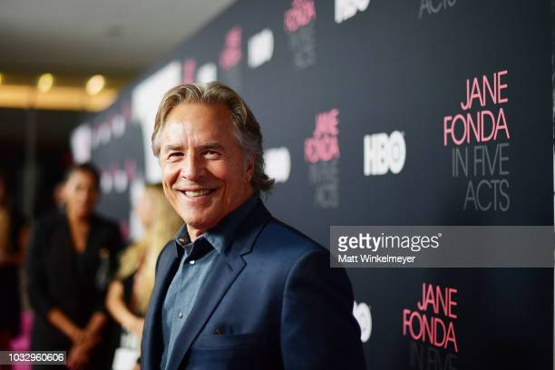 """Don Johnson attends the premiere of HBO's """"Jane Fonda In Five Acts"""" at Hammer Museum on September 13, 2018 in Los Angeles, California."""