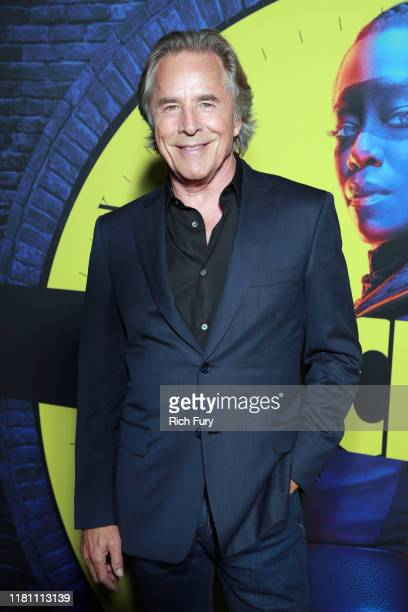 """Don Johnson attends the premiere of HBO's """"Watchmen"""" at The Cinerama Dome on October 14, 2019 in Los Angeles, California."""