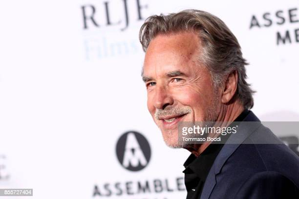 Don Johnson attends the Premiere Of RLJE Films' 'Brawl In Cell Block 99' at The Egyptian Theatre on September 29 2017 in Los Angeles California