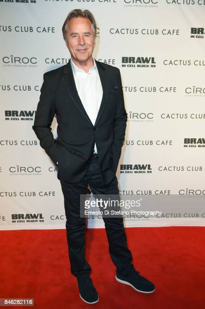 Don Johnson 'Brawl In Cell Block 99' Premiere Party Hosted By Cactus Club Cafe At First Canadian Place In partnership With CIROC at First Canadian...
