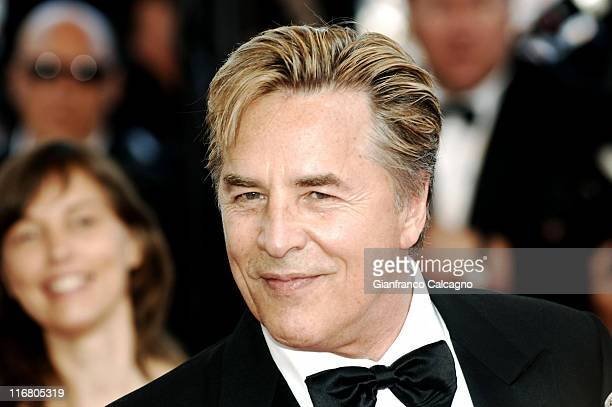 Don Johnson during 2007 Cannes Film Festival 'No Country For Old Men' Premiere at Palais des Festival in Cannes France