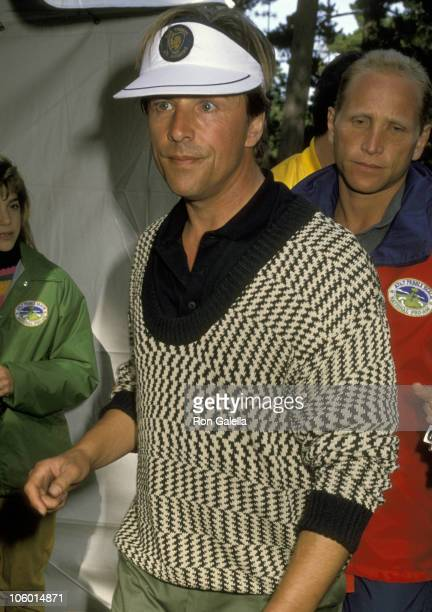 Don Johnson during Don Johnson at Celebrity Golf Tournament at Pebble Beach in Carmel California United States