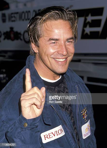 Don Johnson during Don Johnson at Superboat Race at Trump Plaza in Atlantic City New Jersey United States