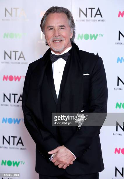 Don Johnson during the National Television Awards 2018 at the O2 Arena on January 23 2018 in London England