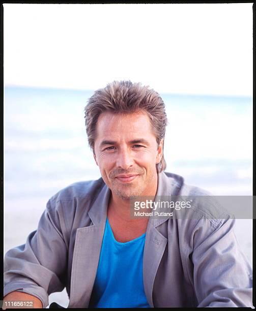 Don Johnson from Miami Vice portrait Florida November 1986