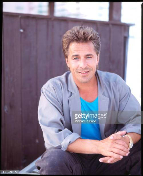 Don Johnson from Miami Vice, portrait, Florida, November 1986.